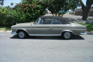 1963 220 se cabriolet  texas car in good condition