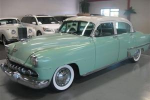 1954 DeSoto Powermaster Sedan 6 Cylinder Automatic Runs Wells Needs Some Work