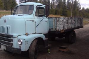 1956 International COE Cabover Dump Truck