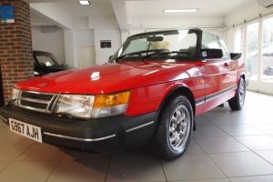 1990 SAAB 900 I CONVERTIBLE LPT TURBO 16V RED
