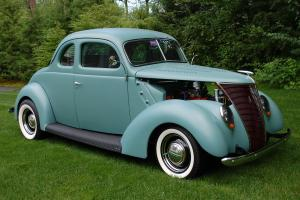 1937 Ford Coupe, All Steel, with 270 Dodge Hemi engine