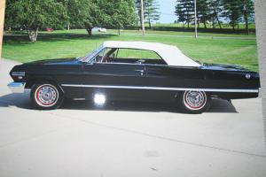1963 CHEVY IMPALA CONVERTIBLE FRAME OFF RESTORATION - NEVER BEEN IN THE RAIN