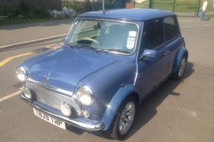 Rover Mini Cooper 40 LE In Island Blue Only 24000 MILES FROM NEW MPI