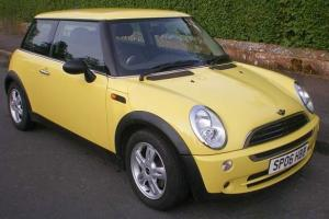 2006 MINI ONE SALT 1.6 AUTOMATIC 3 DOOR HATCHBACK