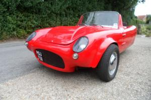 Berkeley T60 with 1000cc automatic Mini engine.