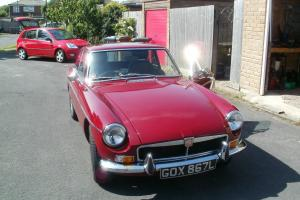 MGB GT in Damansk Red 1973 Tax Free (Reshelled and recon Ivor Searl Engine)