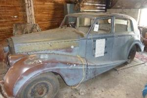 Bentley 1952 Freestone and Webb coachwork