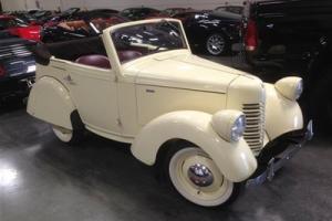 1938 American Bantam 4 Seat Cab Still Running / Very Rare / Must See