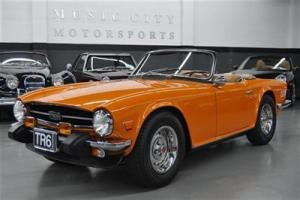 WELL SORTED STRONG TIGHT RUST FREE ACCIDENT FREE TR6 with RECORDS