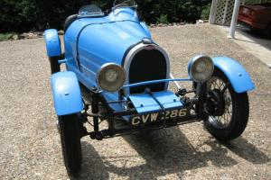 1926 Bugatti T37 Replica  Bugatti French Racing Blue  Beautiful older style kit