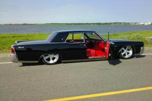 1964 Lincoln Continental HIGH END BUILD AIR RIDE RED LEATHER LASER STRAIGHT A/C
