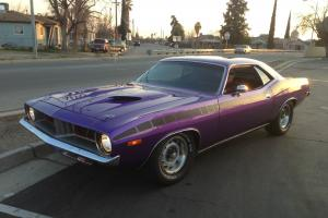1973 Plymouth Cuda Plum Crazy Great Condition Classic