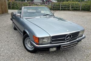 1982 Mercedes Benz 280 SL in excellent condition throughout. Metallic Blue  Photo