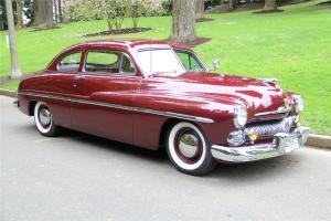 1950 Mercury Club Coupe - FRAME OFF RESTORATION. Spectacular!