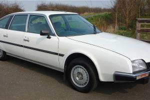 1985 CITROEN CX 25 PALLAS IE WHITE