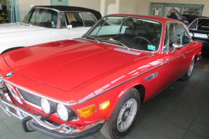 1972 BMW 3.0CS.RED/BLACK.SUNROOF COUPE.***LOOK***MOSTLY REDONE***