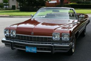 HIGHLY DESIRED 455 V-8 - 1974 Buick Le Sabre Luxus Convertible -  47K ORIG MI