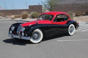 1956 Jaguar XK140 Fixed Head Coupe-4 Speed W/ Overdrive-