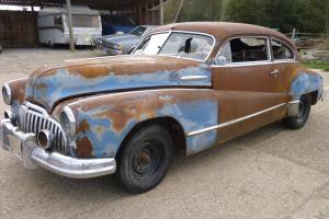 1946 Buick super eight sedanette all original for V8 restore hotrod