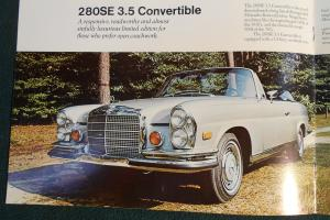 1971 MERCEDES-BENZ 280 SE 3.5 CABRIOLET