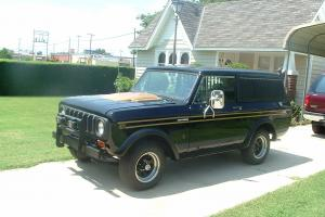 1979 International Scout II Midnight Star V-8 Auto 4X4  1 of 150 Made by Good Tm