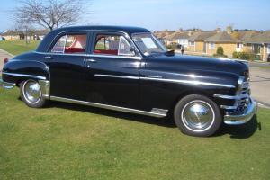 1949 Chrysler Windsor right hand drive.