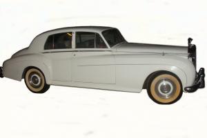 1961 Bentley S2 Saloon Vintage White Motown Original Rolls Royce V8 Photo