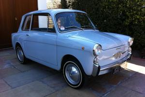 Autobianchi Bianchina Qoattroposti Berlina Saloon (Fiat 500F based)