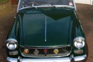 MG MIDGET MK2 1965 - BRITISH RACING GREEN - 1098CC