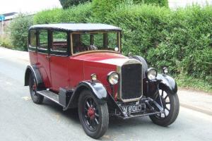 1929 Humber 9/28