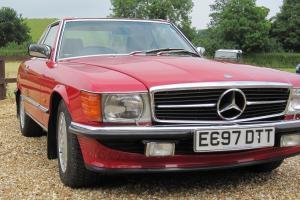 Mercedes 500SL107 SERIES 1988