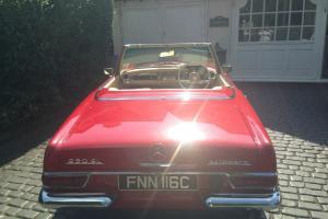 mercedes pagoda sl 1965 auto with hard top