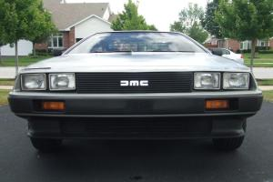Beautiful 1981 Delorean 18,390 Miles!