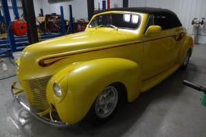 1940 Mercury Convertible Street Rod Built ZZ4 350 V8