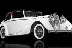 1947 Jaguar Mark IV Drop Head Convertible, MK4 Has Won Prestigious Awards!