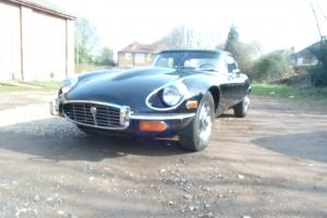JAGUAR E-TYPE V12 CONVERTIBLE MANUAL