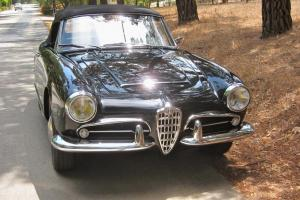 1963 Alfa Romeo Giulia 101 Spider