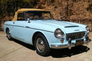 1964 Datsun 1500 Roadster (three seater)