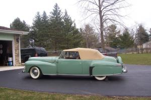 1942 lincoln contiental cabriolet rare 1 of 136 all original 24,000 miles Photo