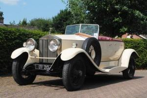 1929 Rolls-Royce 20hp Dual-Cowl, Boat-tail Tourer by F.W. Griffin