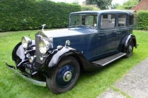 1938 Rolls-Royce 25/30 Limousine by Thrupp