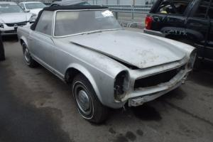Mercedes 230SL PAGODA 1966 NEEDS WORK SELLING NO RESERVE