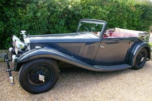 1934 Alvis 1934 Alvis Speed 20 SB Vanden Plas Drop Head Coup