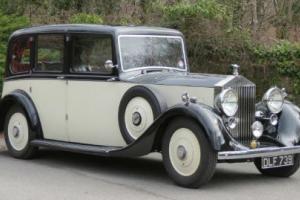 1937 Rolls-Royce 25/30 Barker Limousine GWN78