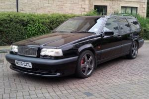 1995 VOLVO 850-855 t5r black full service history 310bhp rica remap ex/con