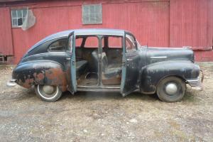 1948 NASH 600 SUICIDE DOOR AMERICAN RETRO ROD SLED HOTROD