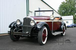 1926 Stutz AA Roadster - Fresh Restoration!