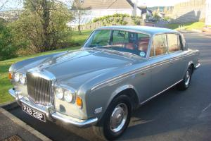 Bentley T1 1976 Silver With Red Leather, NIce Condition