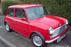 2000 ROVER MINI SEVEN RED