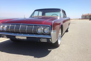 1964 Lincoln Continental RESTORED Og Cali car Matching Numbers Disc Brakes